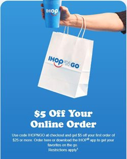 Restaurants deals in the IHOP weekly ad in Houston TX