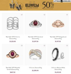 Jewelry & Watches offers in the Littman Jewelers catalogue in Philadelphia PA ( 3 days ago )