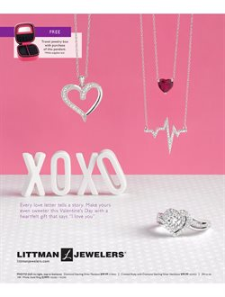 Littman Jewelers deals in the New York weekly ad