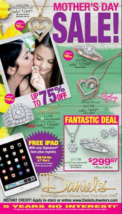 Daniel's Jewelers deals in the Los Angeles CA weekly ad