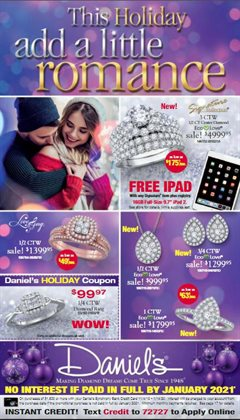 Daniel's Jewelers deals in the Riverside CA weekly ad