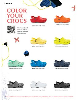 Crocs deals in the SHI by Journeys catalog ( 26 days left)