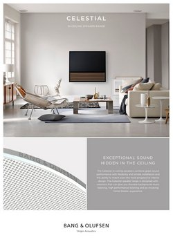 Electronics & Office Supplies deals in the Bang & Olufsen catalog ( 14 days left)