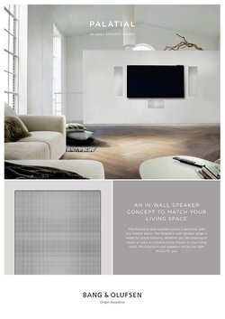 Electronics & Office Supplies deals in the Bang & Olufsen catalog ( 7 days left)