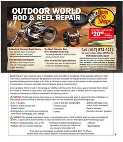Fishing deals in the Bass Pro weekly ad in Arvada CO