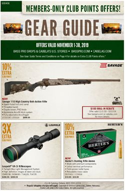 Bass Pro deals in the Memphis TN weekly ad