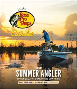 Bass Pro catalogue ( More than a month )