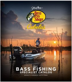 Sports deals in the Bass Pro catalog ( More than a month)