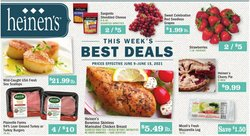 Grocery & Drug deals in the Heinen's catalog ( Expires tomorrow)