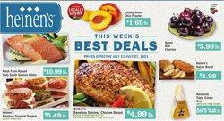 Grocery & Drug deals in the Heinen's catalog ( Expires today)