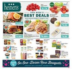 Heinen's deals in the Heinen's catalog ( 2 days left)