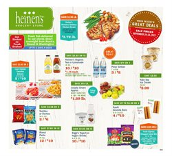Heinen's deals in the Cleveland OH weekly ad