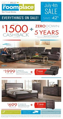 The Room Place deals in the Joliet IL weekly ad