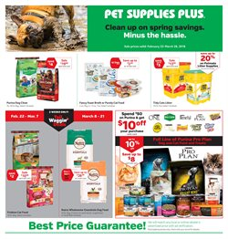 Pet Supplies Plus deals in the Chicago IL weekly ad