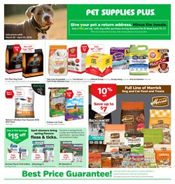 Pet Supplies Plus deals in the Milwaukee WI weekly ad