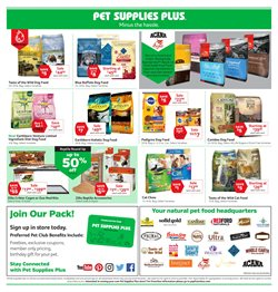 Rachael Ray deals in the Pet Supplies Plus weekly ad in New York