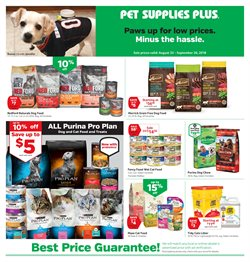 Pet Supplies Plus deals in the Saint Paul MN weekly ad