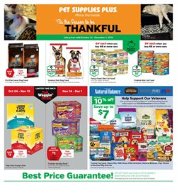 Pet Supplies Plus deals in the Long Beach CA weekly ad