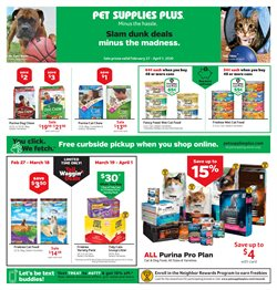 Grocery & Drug offers in the Pet Supplies Plus catalogue in San Antonio TX ( Expires tomorrow )