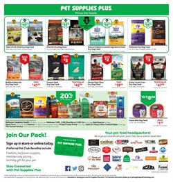 Signs deals in Pet Supplies Plus