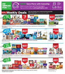 Grocery & Drug deals in the Pet Supplies Plus catalog ( Expires tomorrow)