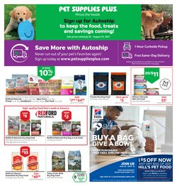 Grocery & Drug deals in the Pet Supplies Plus catalog ( Published today)