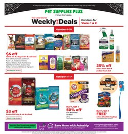 Grocery & Drug deals in the Pet Supplies Plus catalog ( 5 days left)