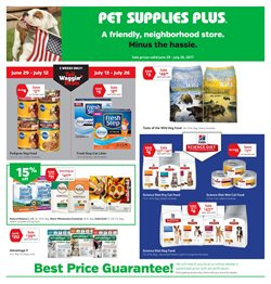 Pet Supplies Plus deals in the Rochester NY weekly ad