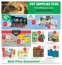 Pet Supplies Plus deals in the Cleveland OH weekly ad
