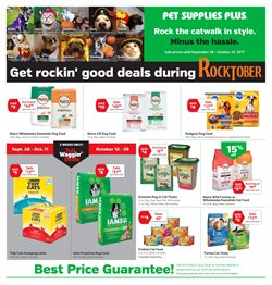 Pet Supplies Plus deals in the Charlotte NC weekly ad