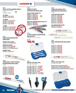 Nails deals in the Fastenal weekly ad in Whittier CA