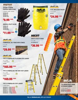 Ladder deals in the Fastenal weekly ad in Garden Grove CA
