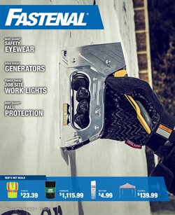 Fastenal deals in the Columbus IN weekly ad