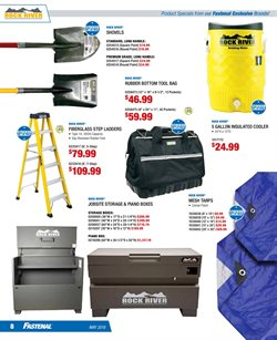 Ladder deals in the Fastenal weekly ad in Chino CA