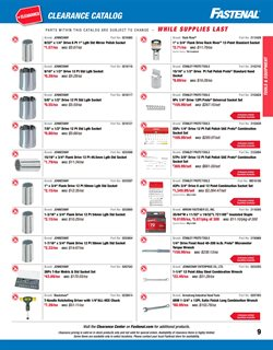 Fastenal deals in the New Britain CT weekly ad