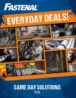Fastenal deals in the Johnstown PA weekly ad