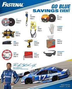 Tools & Hardware deals in the Fastenal weekly ad in Rapid City SD