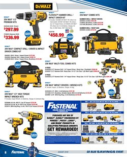 Saw deals in the Fastenal weekly ad in Fullerton CA