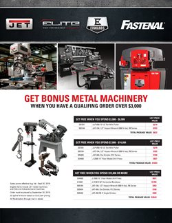 Tools & Hardware deals in the Fastenal weekly ad in Fontana CA