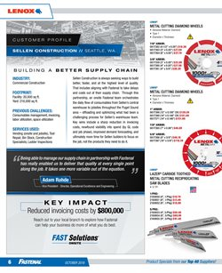 Ladder deals in the Fastenal weekly ad in Chino Hills CA