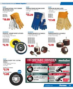Grinder deals in the Fastenal weekly ad in San Antonio TX