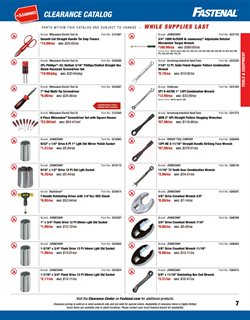 Craftsman deals in the Fastenal weekly ad in Poughkeepsie NY