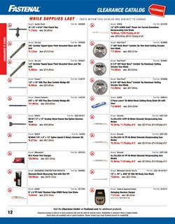 Tile deals in the Fastenal weekly ad in Schenectady NY