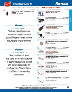 Lock deals in the Fastenal weekly ad in Poughkeepsie NY