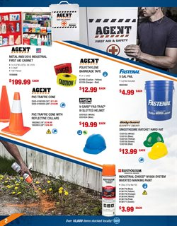 Paint deals in the Fastenal weekly ad in Bay City MI