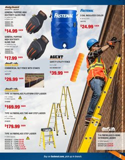Ladder deals in the Fastenal weekly ad in Schenectady NY