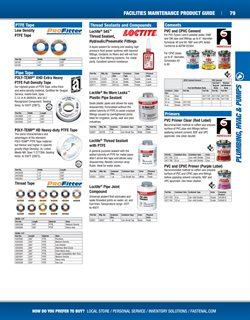 Swing deals in the Fastenal weekly ad in Concord NC