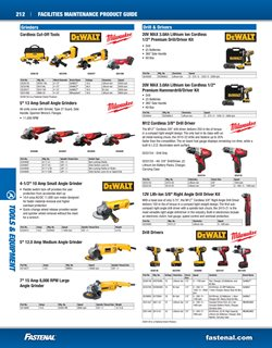 DeWalt deals in the Fastenal weekly ad in Oklahoma City OK