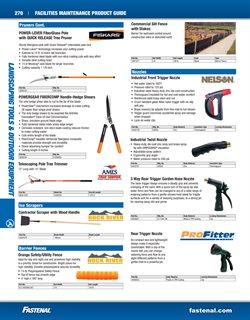 Trimmer deals in the Fastenal weekly ad in New York