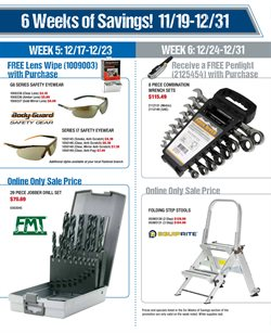 Drill deals in the Fastenal weekly ad in San Leandro CA
